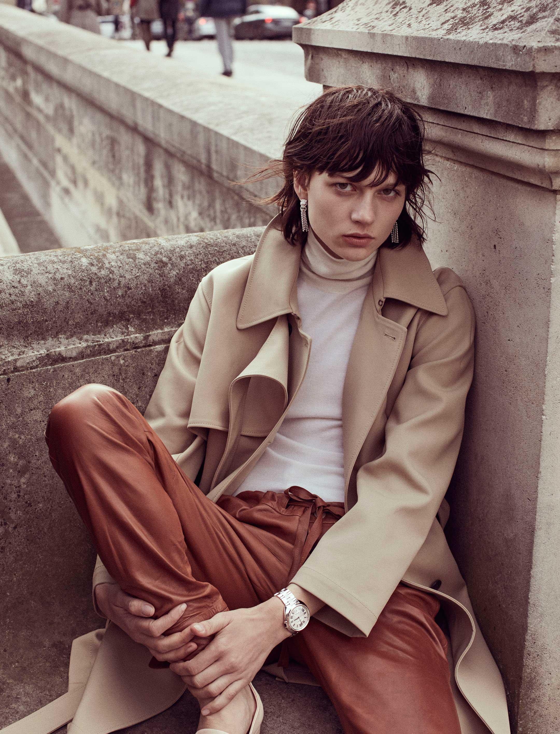 Tanya Jones for L'Express Styles (ph. Stefano Galuzzi)