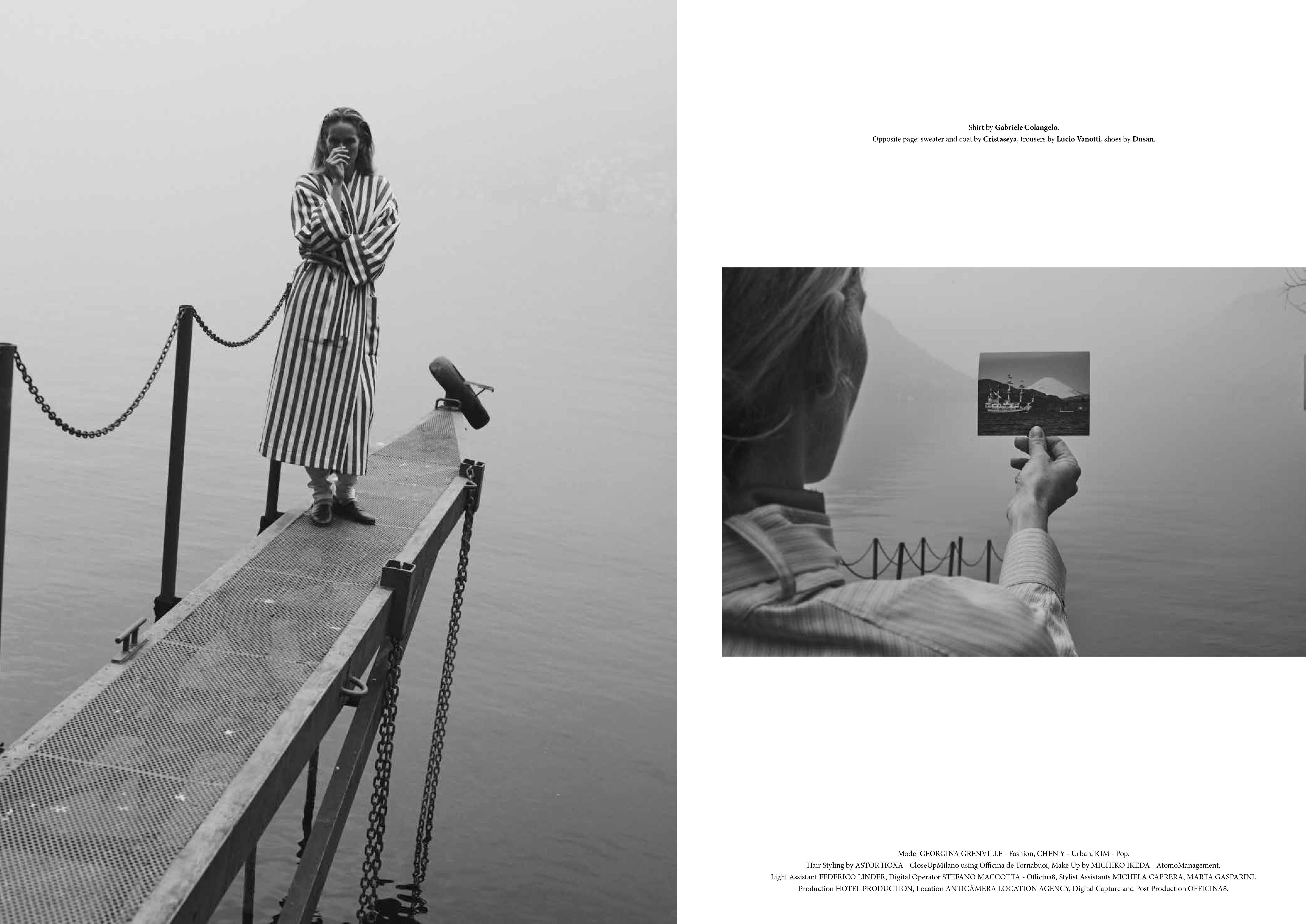 Tanya Jones for Cartography (ph. Stefano Galuzzi)